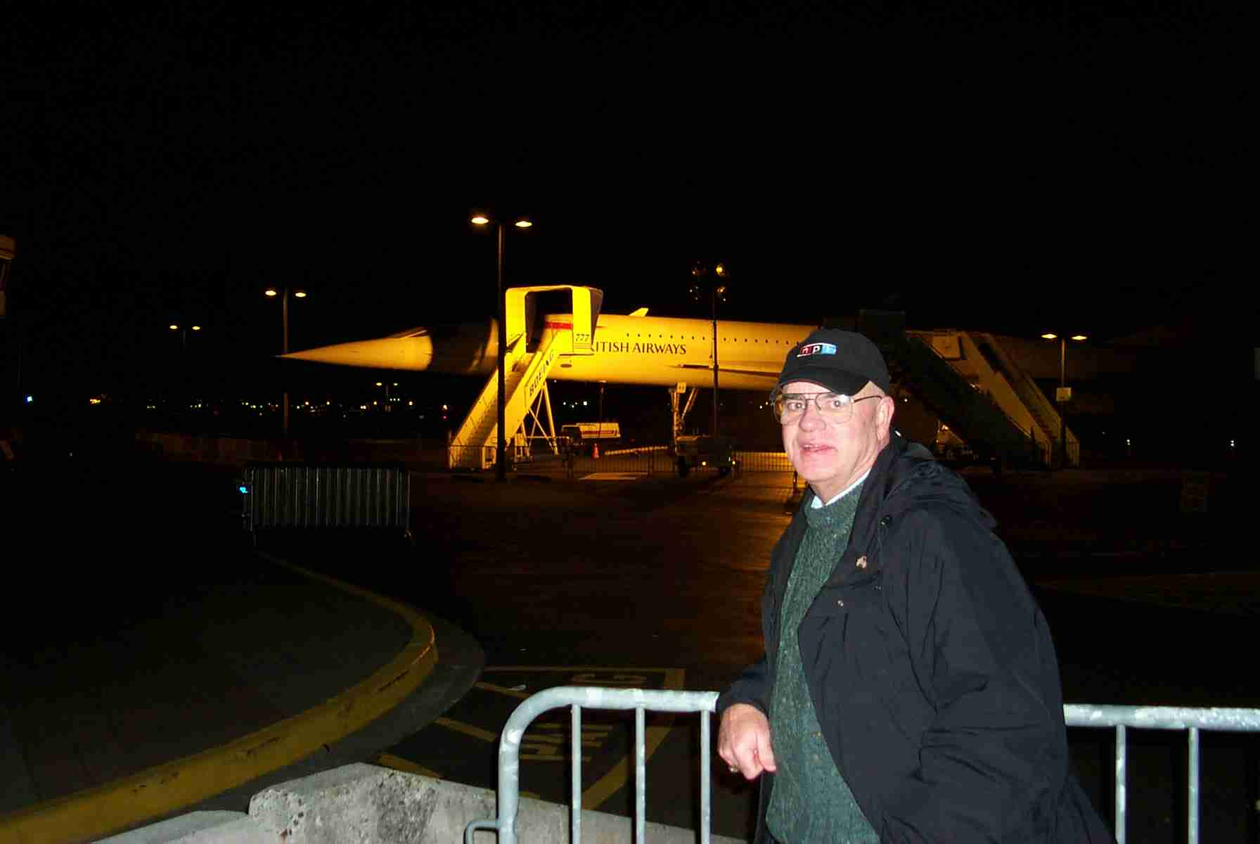 Our Man On Assignment - Mike Lavelle - and Concorde